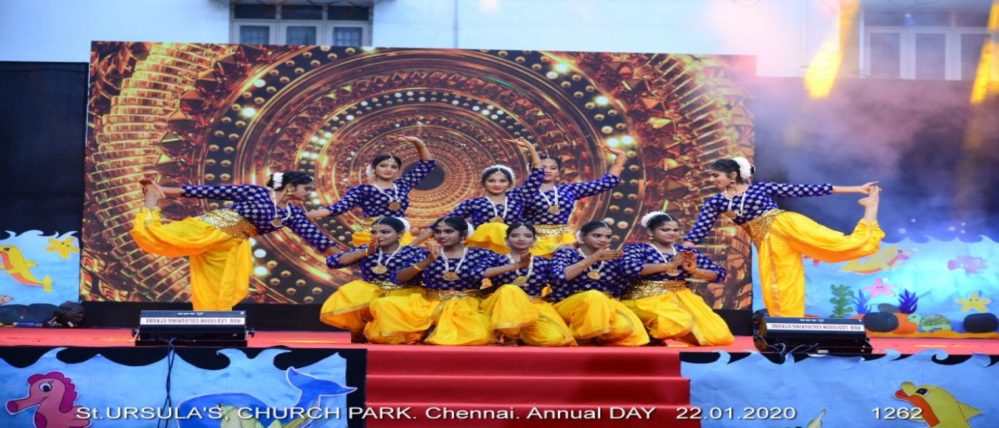 Annual Day Celebration 2020 - Welcome Dance